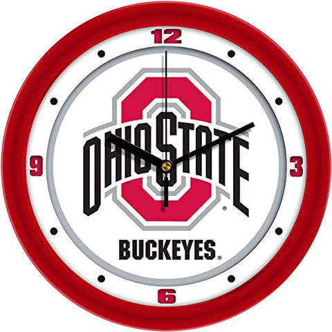 Ncaa Ohio State Buckeyes Wall Clock, Traditional, One Size