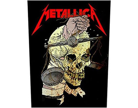 Metallica - Harvester Of Sorrow - Back Patch - Free Shipping