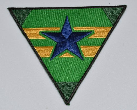 Serenity/Firefly Black Border Green Browncoats Patch