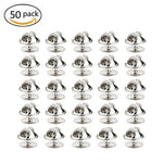 Dywishkey 50Pcs Tie Tack Blanks Pins With Clutch Back