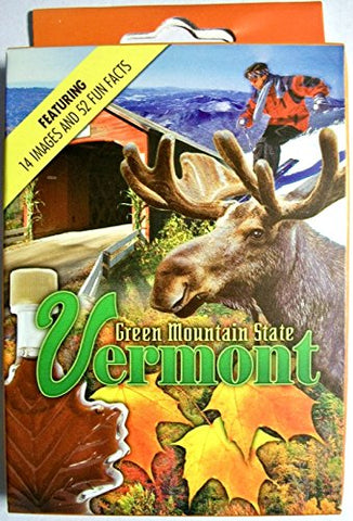 Vermont Souvenir Playing Cards