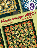 Marti Michell Kaleidoscope Rulers And Kaleidoscope Abcs Quilting Book Bundle, 3 Items