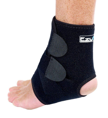 Ezyfit Strong Flexible Neoprene Ankle Support Brace, Small