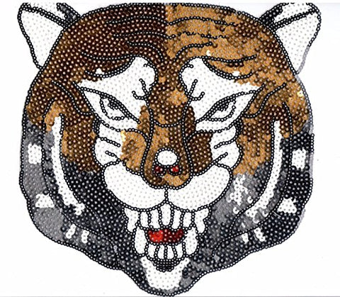 Sequin Patch: Mountain Lion / Cougar