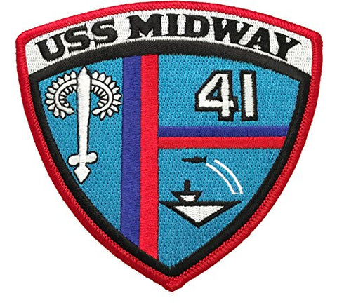 Uss Midway Cv-41 Patch
