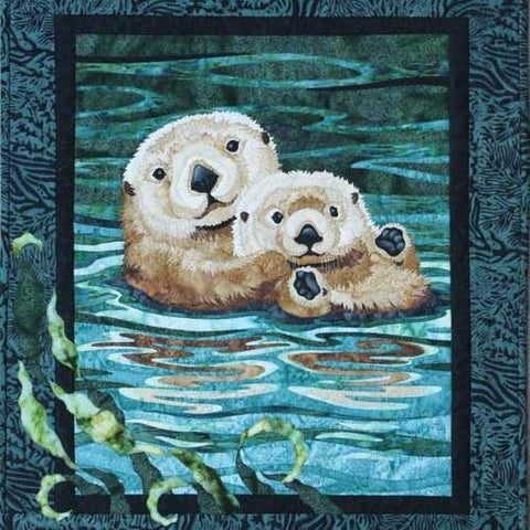 Sea Otter Wall Quilt Pattern