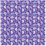 Siser Patterned Heat Transfer 12 Inch X 12 Inch Sheet - Navy Paisley