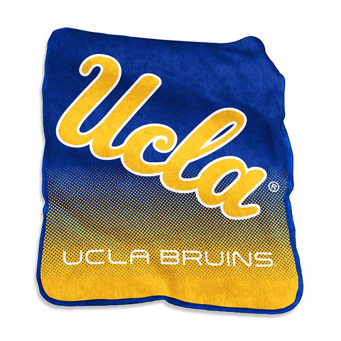 Logo Brands Ncaa Ucla Bruins Unisex Raschel Throwraschel Throw, Royal, N/A