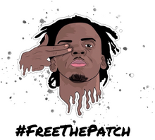 Load image into Gallery viewer, #FreeThePatch White T-Shirt