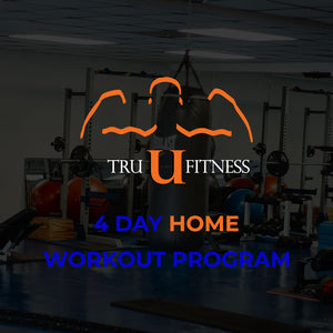 4 Day Home Workout Program