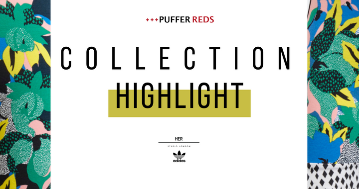 adidas, puffer reds, HER Studio, London, fashion, Collaboration