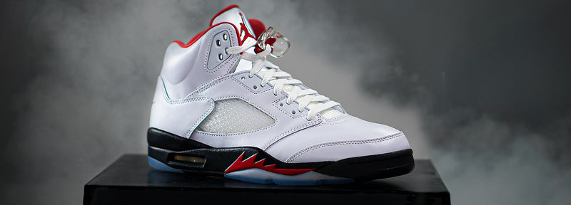 Air Jordan 5 'Fire Red - Silver Tongue'