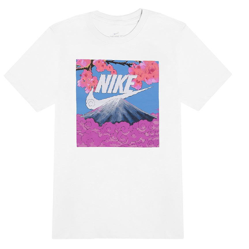 Nike Sportswear 'UP In Clouds' White T-Shirt