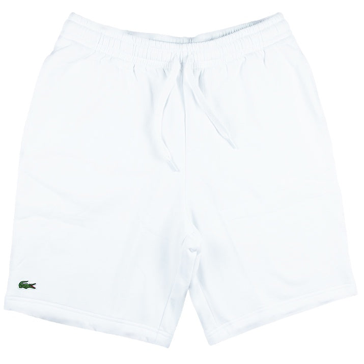 Lacoste Sport White Tennis Fleece Shorts
