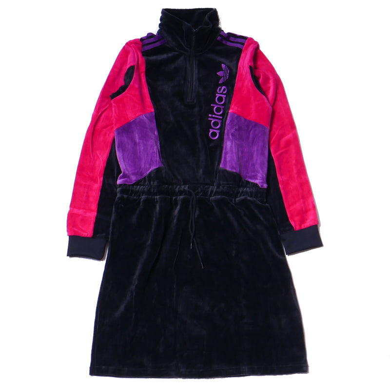 Adidas Womens 90's Block Track Jacket Dress