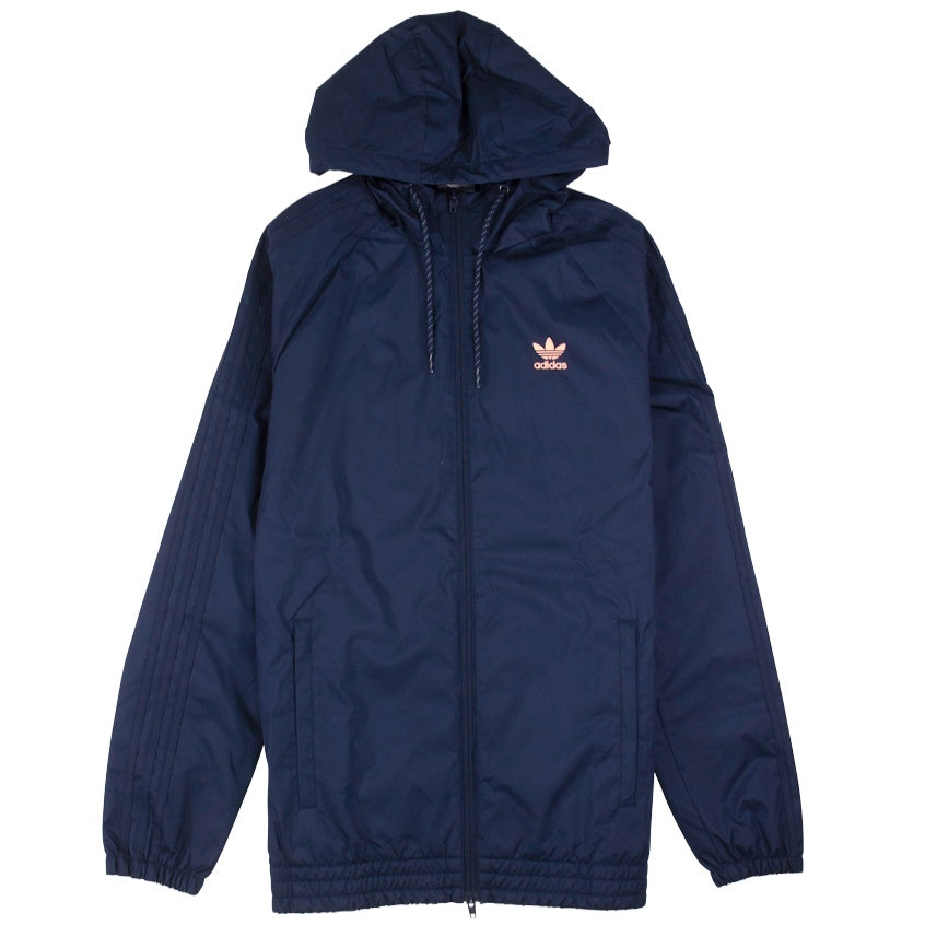 Adidas Navy Winterized Windbreaker