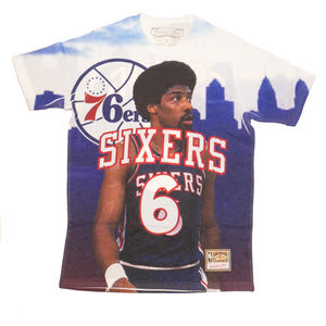 Mitchell & Ness City Pride SS T-Shirt Philadelphia 76ers Julius Erving