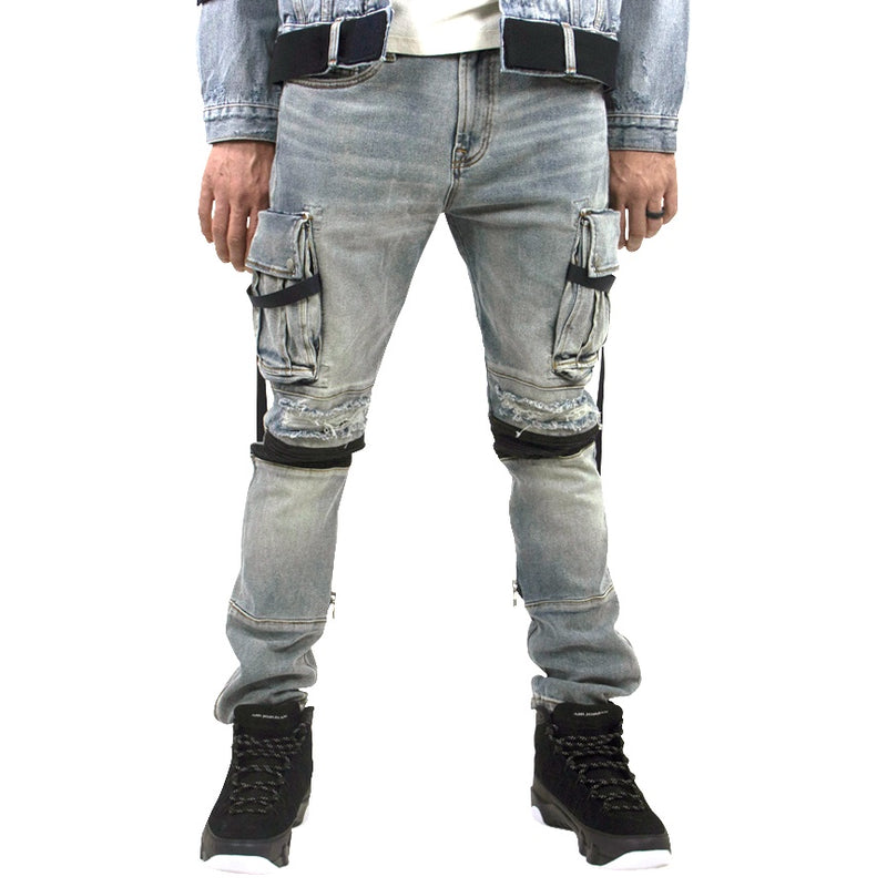 Cult Of Individuality Punk Cargo Stretch Jeans