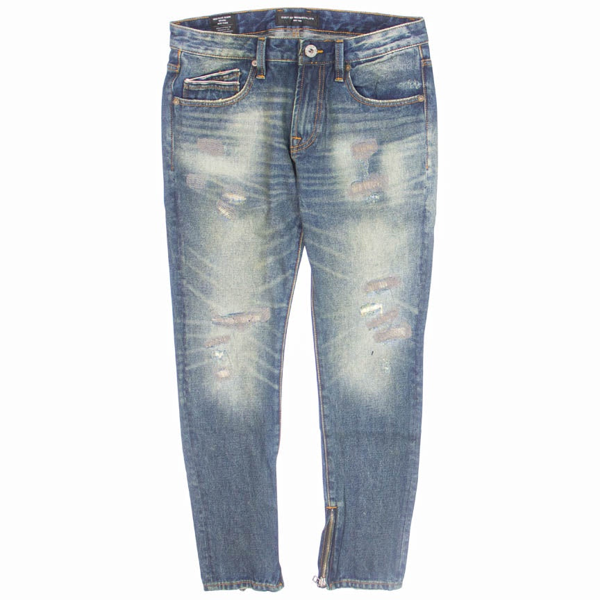 Cult Of Individuality Rocker Slim Money Jeans