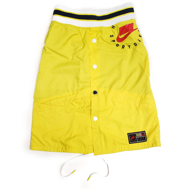 Nike Women's NSW Yellow Woven Skirt