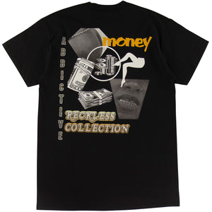 Addictive Vintage Rap Black T-Shirt