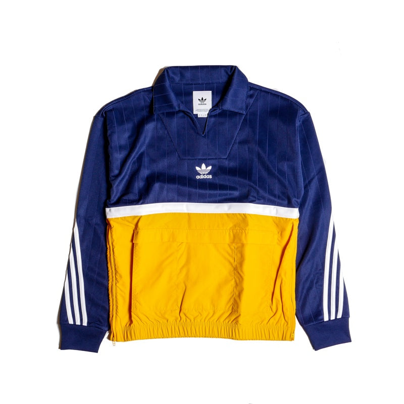 Adidas Drill Pullover Navy/Yellow Jacket
