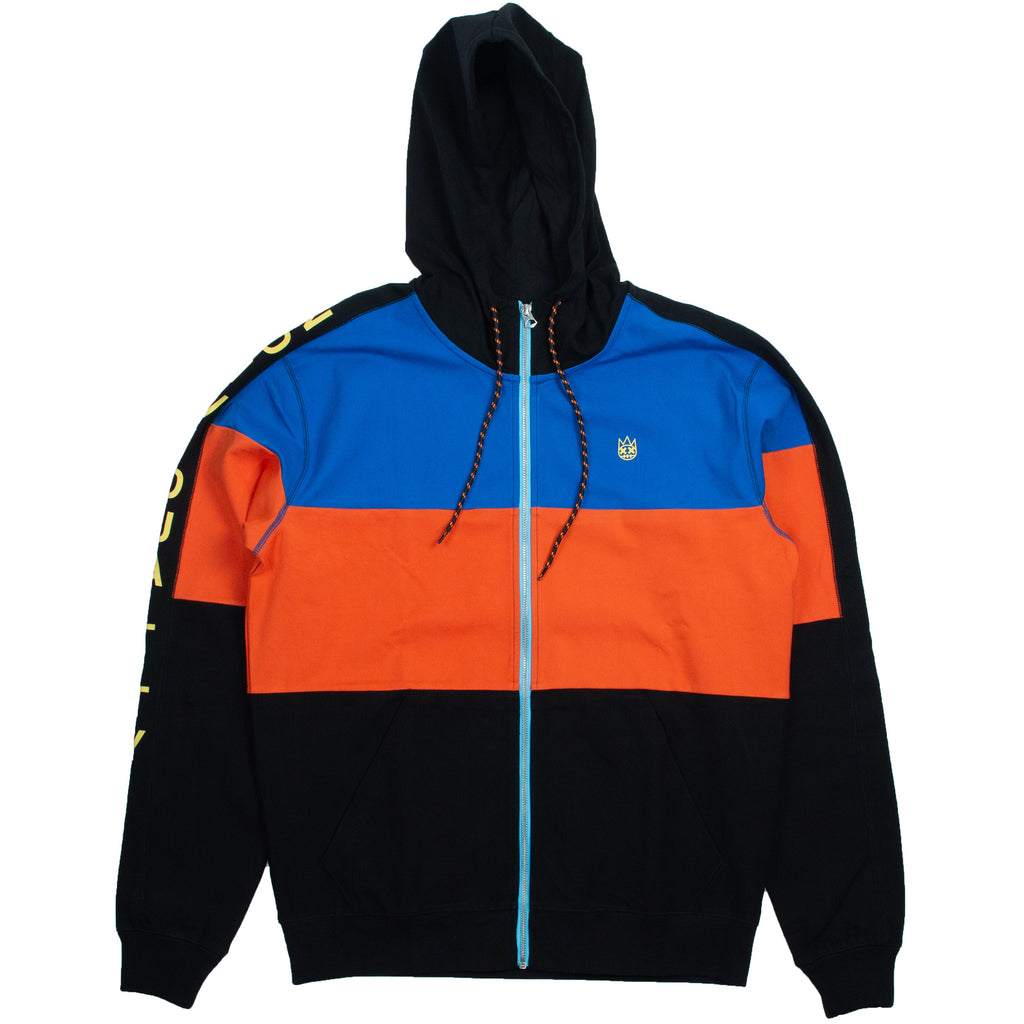 Cult Of Individuality Multi Color Block Track Jacket