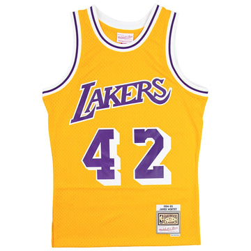 Mitchell & Ness Swingman Los Angeles Lakers James Worthy Jersey