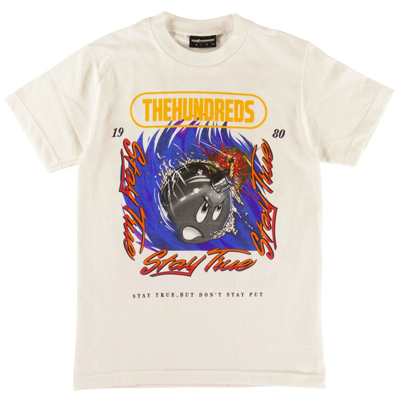 The Hundreds Speed Adam White T-Shirt