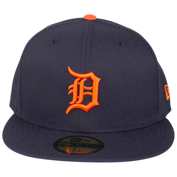 New Era Detroit Tigers Road Authentic Collection 59Fifty Fitted