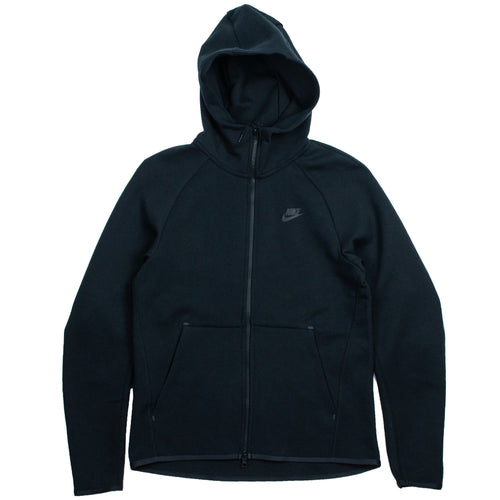 512f61b09 Nike Sportswear Tech Black Fleece Full-Zip Hoodie