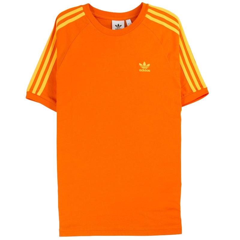 Adidas 3-Stripe Orange T-Shirt