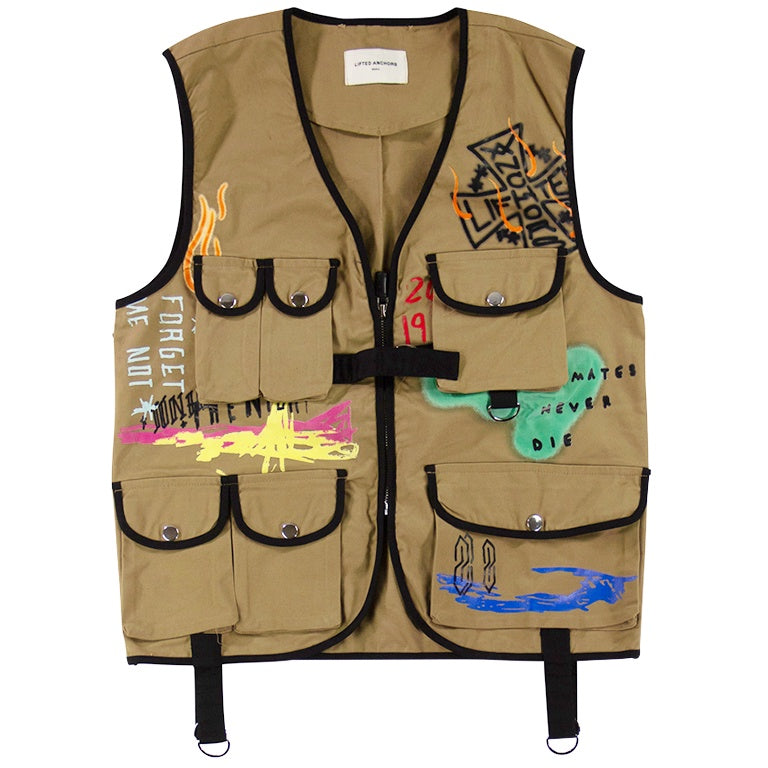 Lifted Anchors Tan Santana Vest