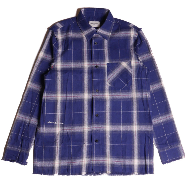 Lifted Anchors Navy Furlan Flannel