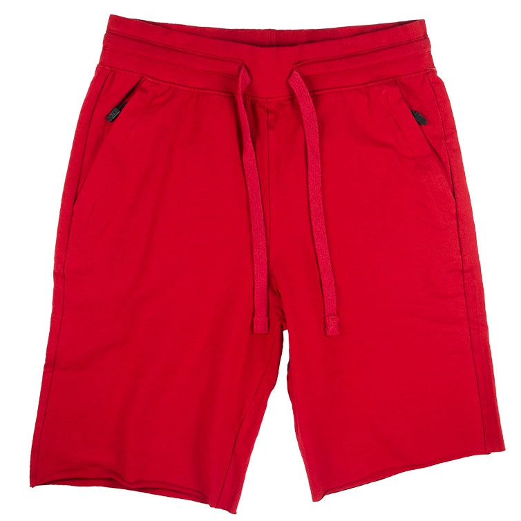 Jordan Craig Red Solid Color Short