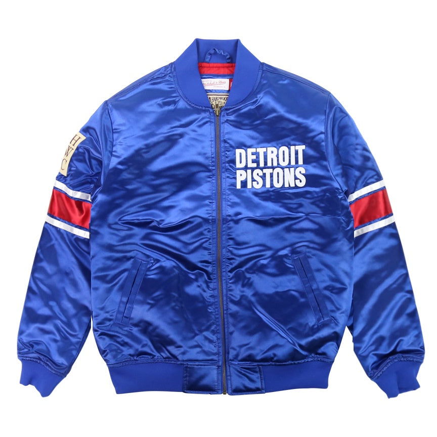 Mitchell & Ness NBA Heavyweight Satin Jacket Detroit Pistons