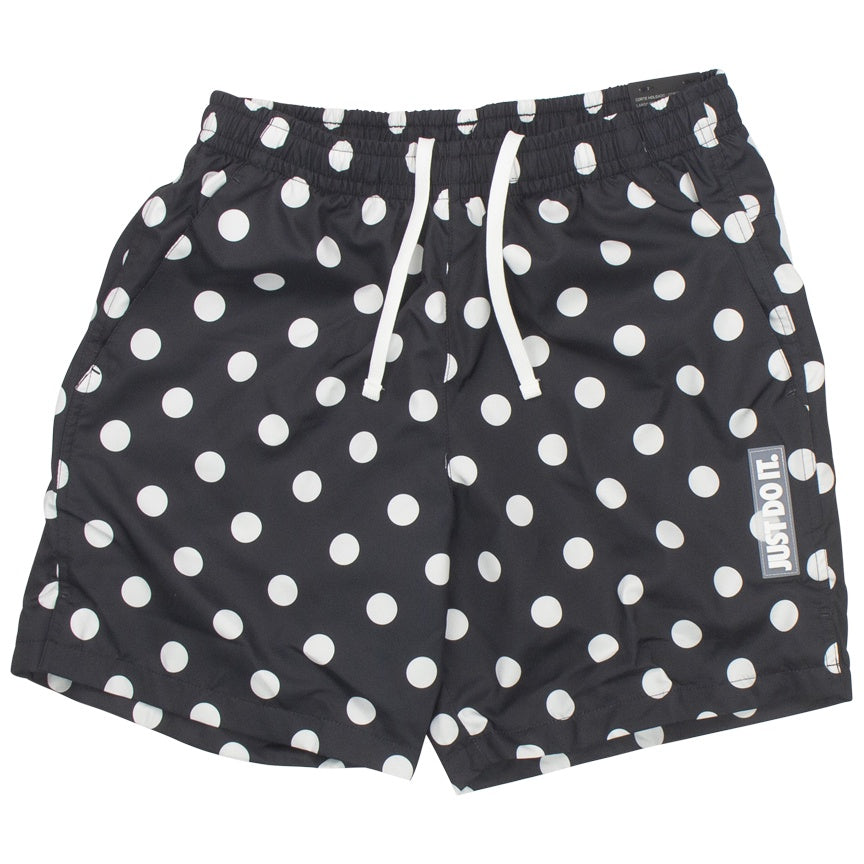 Nike Sportswear Just Do It Dots Black/White Shorts
