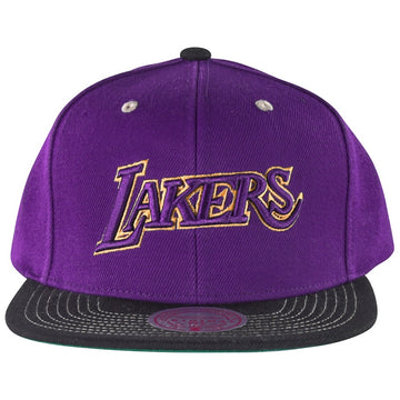 Mitchell & Ness Contrast Stitch Snapback HWC Los Angeles Lakers