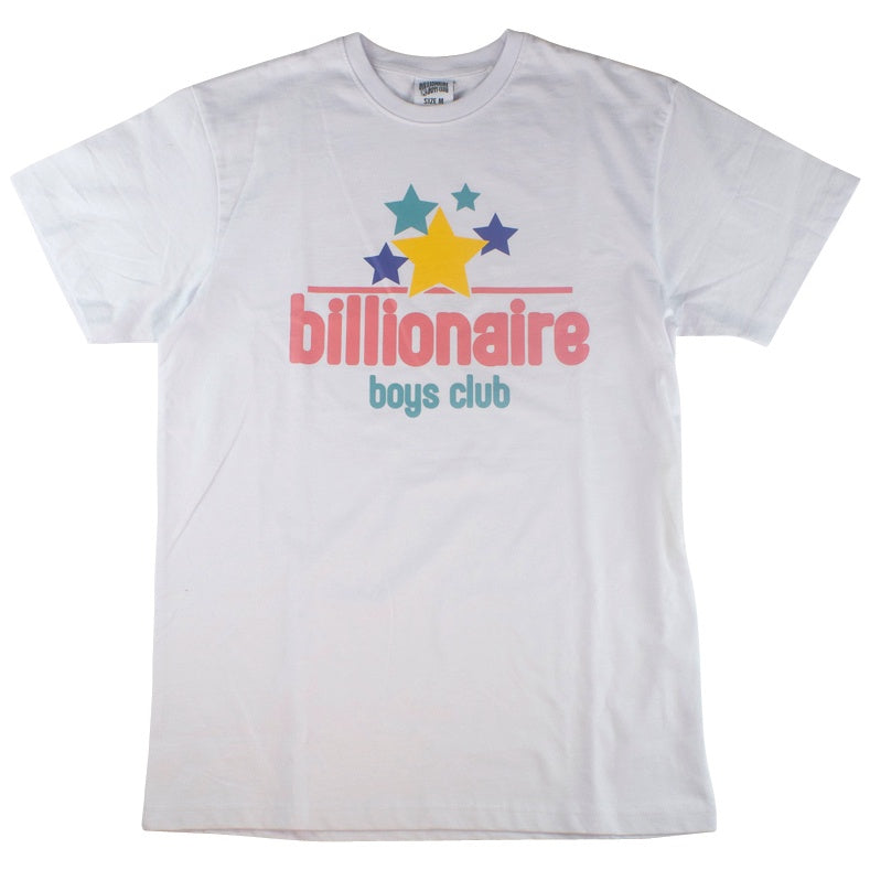 Billionaire Boys Club White Fresh Stars T-Shirt