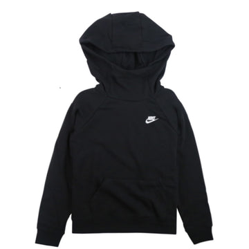 Nike Women's Sportswear Essential Funnel-Neck Black Hoodie