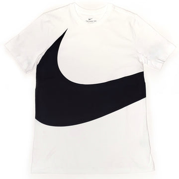 Nike Men's HBR Swoosh White T-Shirt