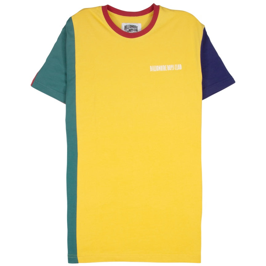 Billionaire Boys Club Split Decision Yellow T-Shirt