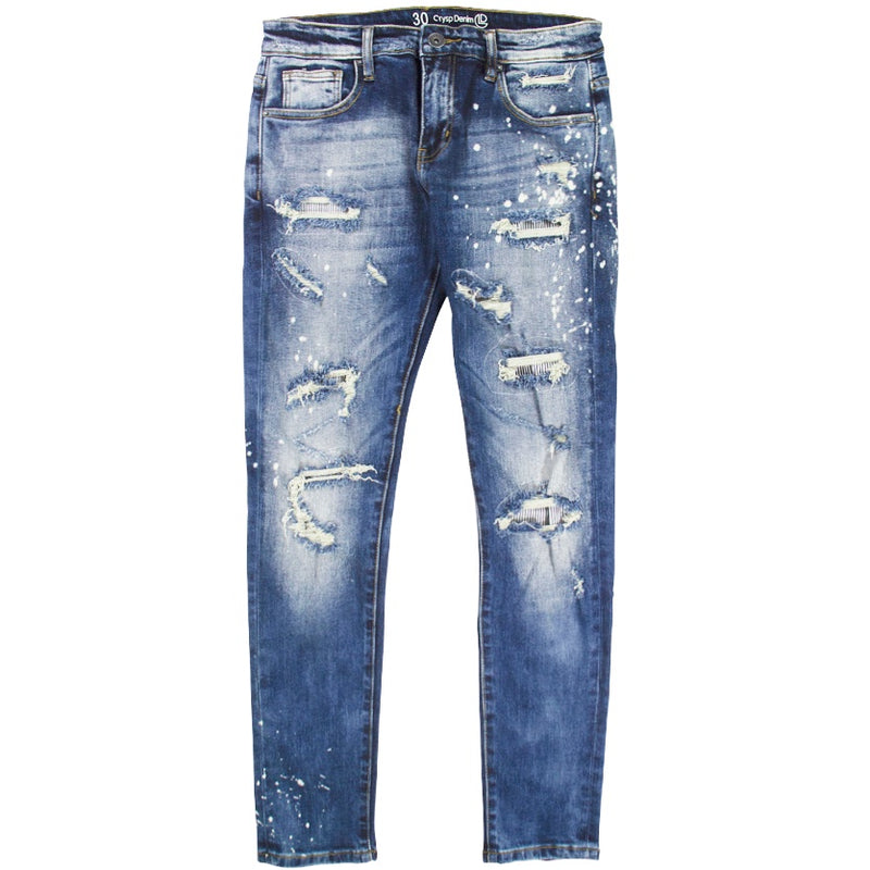 Crysp Atlantic Denim Jean 'Mid Blue'