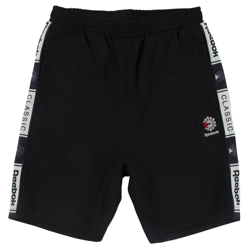 Reebok Classics Black Taped Track Shorts