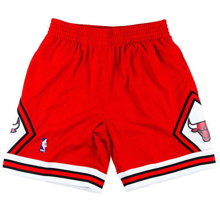 Mitchell & Ness Swingman 1997 Chicago Bulls Road Shorts