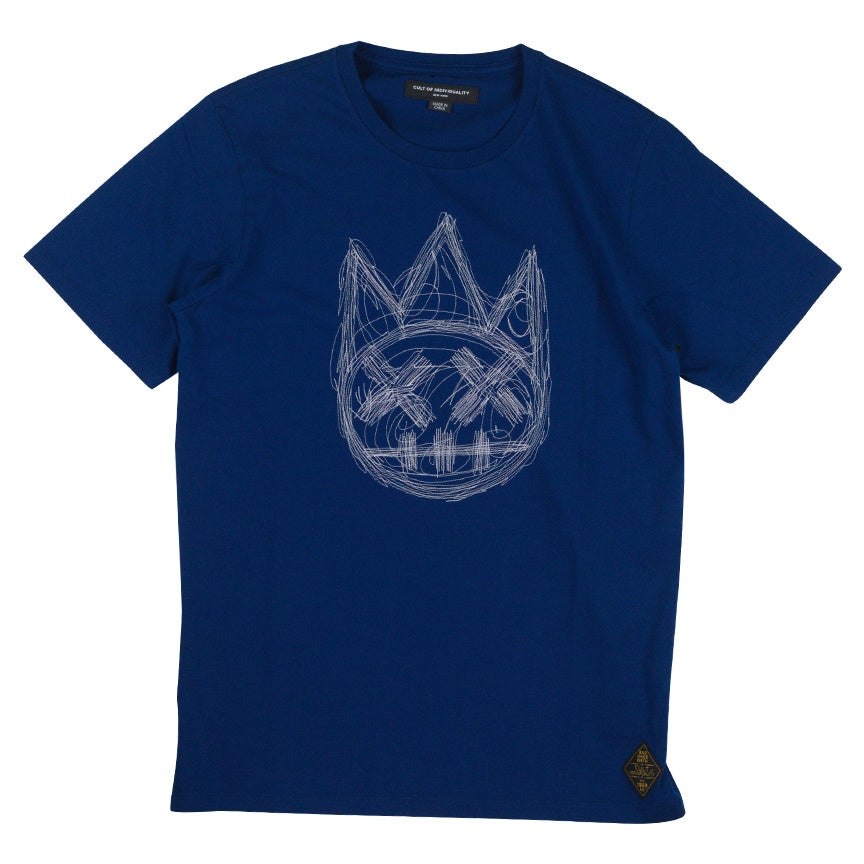 Cult of Individuality Multi Stitch Royal Shimuchan T-Shirt
