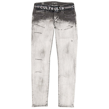 Cult Of Individuality Belted Rocker Slim Jeans