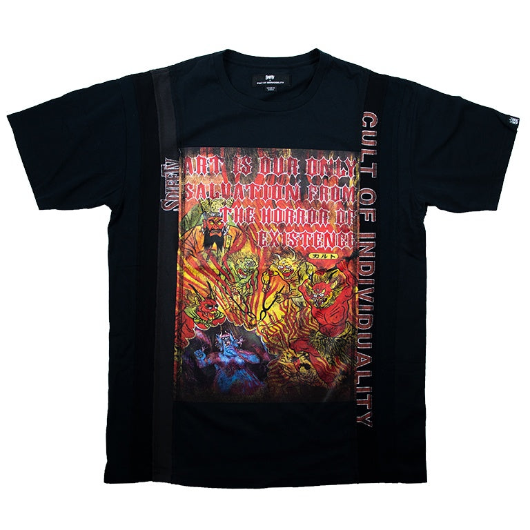 Cult Of Individuality Black SPIFFTV World Tour T-Shirt