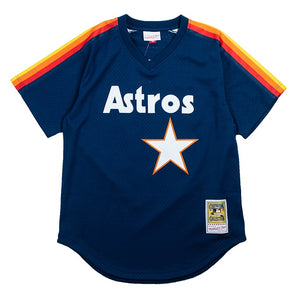 Mitchell & Ness Mesh BP Jersey Houston Astros Nolan Ryan