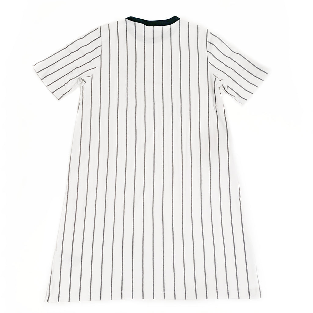 Adidas Originals Women's White/Green Tee Dress